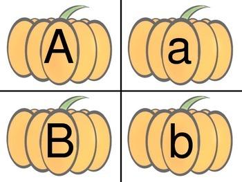 Alphabet Pumpkins!