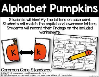 Alphabet Pumpkins - Letter Identification