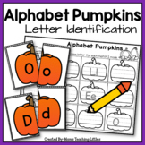 Alphabet Pumpkins - Letter Identification