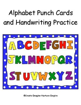 Alphabet Punch Cards