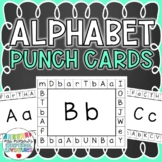 Alphabet Punch Cards {Pre-K & Kindergarten Letter Identification Activity}