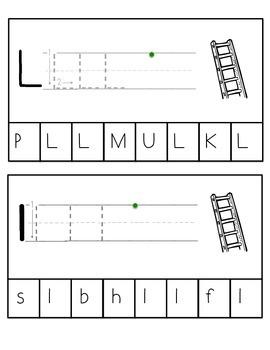 Alphabet Punch, Fold, & Stamp