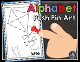 Alphabet Push Pin Art