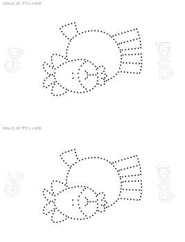 Alphabet Push Pin Art