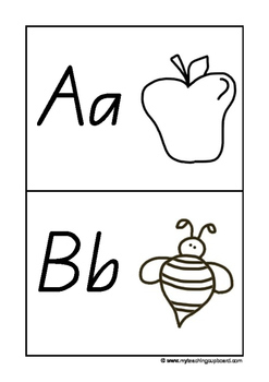 Alphabet Push Pin Fine Motor Cards in QLD Beginners Font