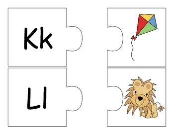 First Sound Fluency Puzzles!