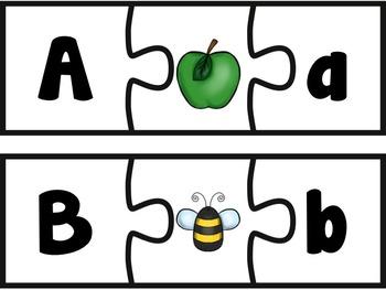 Letter / Alphabet Puzzle