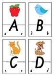 Alphabet Puzzle - NSW Foundation Font