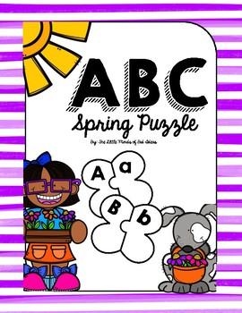 Spring ABC Puzzle