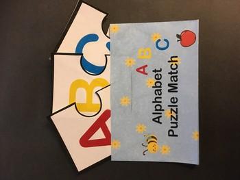 Alphabet/Letter-Word Association Puzzle
