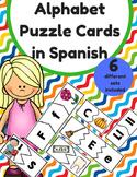 Alphabet Puzzle Cards in Spanish (Rompecabezas del alfabeto)