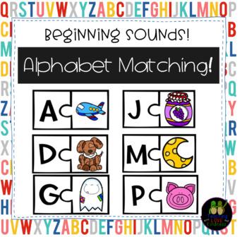 Alphabet Puzzle Centers