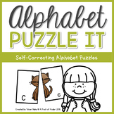 Alphabet Puzzle It: Self-Correcting Alphabet Puzzles