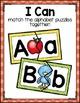Alphabet Puzzle Literacy Center