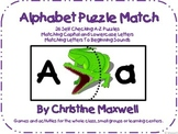 Alphabet Puzzle Match Sounds and Letters