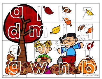 Alphabet Puzzle/Picture Match *FREEBIE*