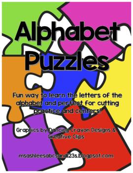 Alphabet Puzzle Set