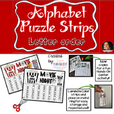 Alphabet Puzzle Strips - Letter Sequencing