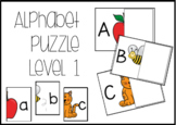 Alphabet Puzzle Task Box Level 1 UC LC #btsfresh
