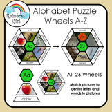 Alphabet Puzzle Wheels