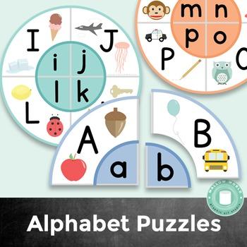 Alphabet Puzzle Letter Matching