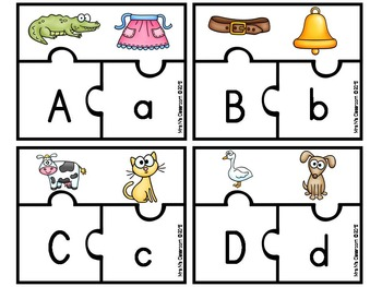 Alphabet Puzzle by Mrs N