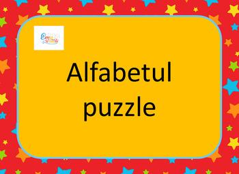 Alphabet Puzzle in Romanian