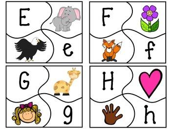 Alphabet Puzzle with Accountability