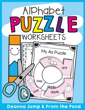 Alphabet Puzzles for Lowercase Letters