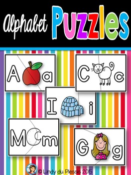 Self Correcting Alphabet Puzzles for Centers