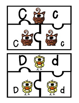Alphabet Puzzles 2