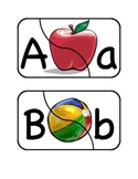 Alphabet Puzzles (2-Piece)