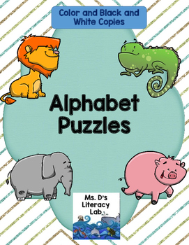 Alphabet Puzzles (Animals)