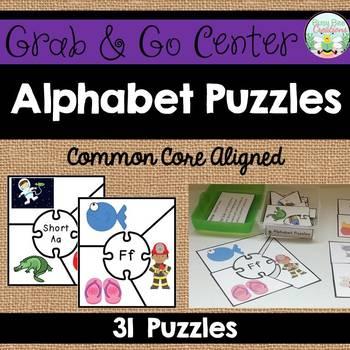 Alphabet Puzzles - Phonics Center