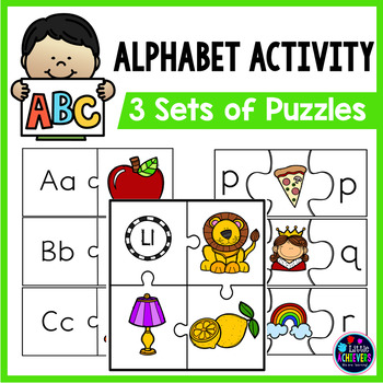 Alphabet Puzzles | Letter Sound and Letter Recognition