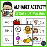 Alphabet Puzzles (Initial Sound Activity) | Letter Sound and Letter Recognition