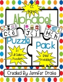 Alphabet Puzzles  ~31  3-piece Puzzles  PLUS  Printables~  *CC Aligned*