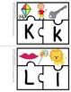 Alphabet Puzzles  ~31  3-piece Puzzles  PLUS  Printables~