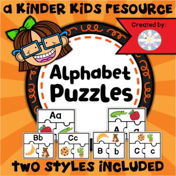 Alphabet Puzzles 52 Pack - KINDERGARTEN SKILLS 3