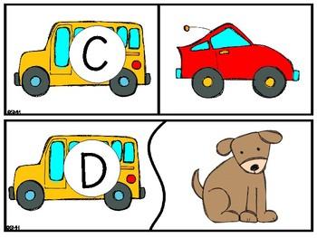 Alphabet Puzzles (August)