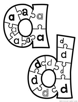 Alphabet Puzzles BUNDLE