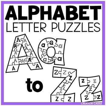 Alphabet Puzzles BUNDLE