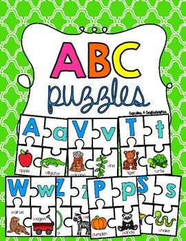 Alphabet Puzzles {{Beginning Sounds}}