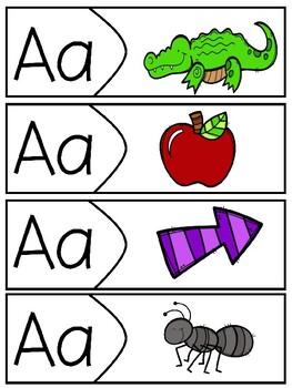 Alphabet Puzzles - Beginning Sounds