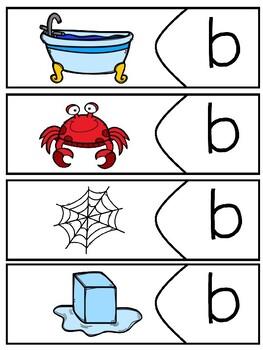 Alphabet Puzzles - Ending Sounds