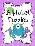 Alphabet Puzzles FREEBIE