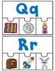 Alphabet Puzzles:  Four Piece Puzzles for your ABC Center