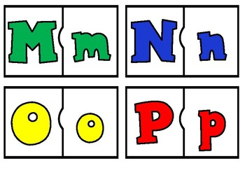 Alphabet Puzzles:  Let's Get to Know the Alphabet 3 different games