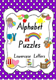 UPDATED Alphabet Letter Puzzles (Lower-case Letters) - Who