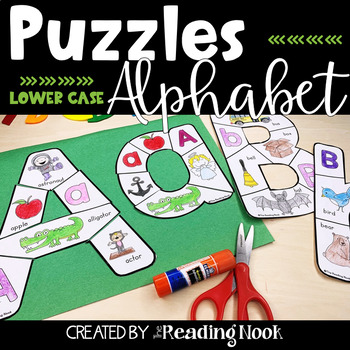 Alphabet Puzzles - Lowercase